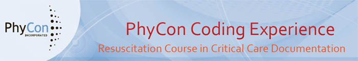 Coding Experience - Resuscitation Course in Critical Care Documentation